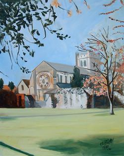 Waltham Abbey Church for Flora