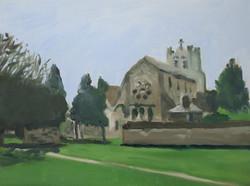 Waltham Abbey Church (Rear)
