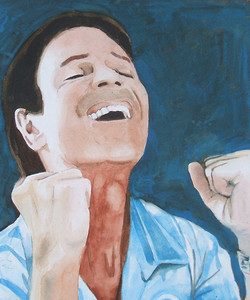 Cliff Richard painting no2