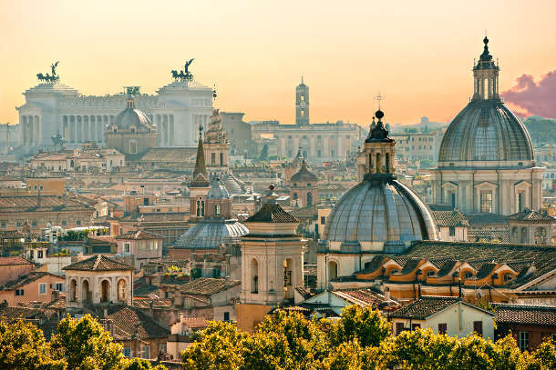 Rome city captures the love