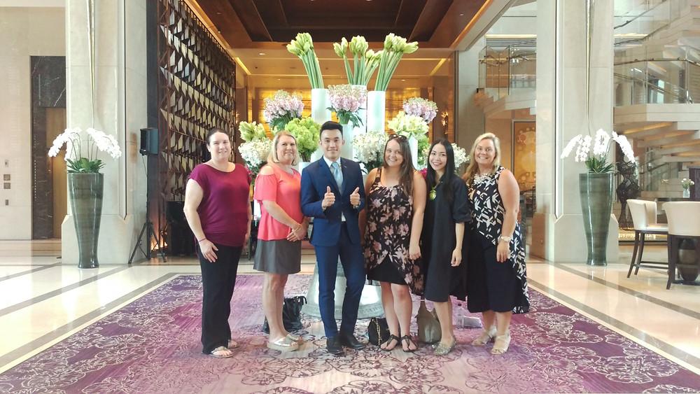 Us with the General Manager of Siam Kempinski and TAT Nang