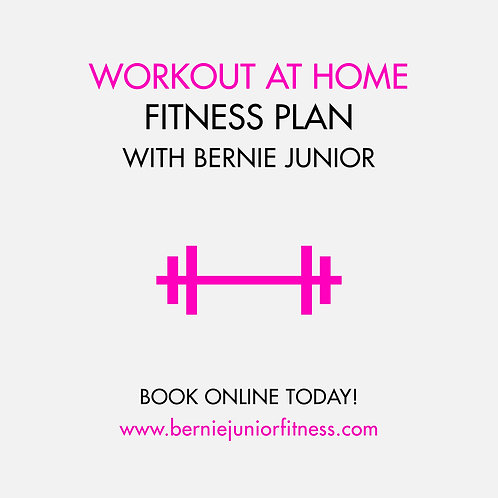 WORKOUT AT HOME FITNESS PLAN