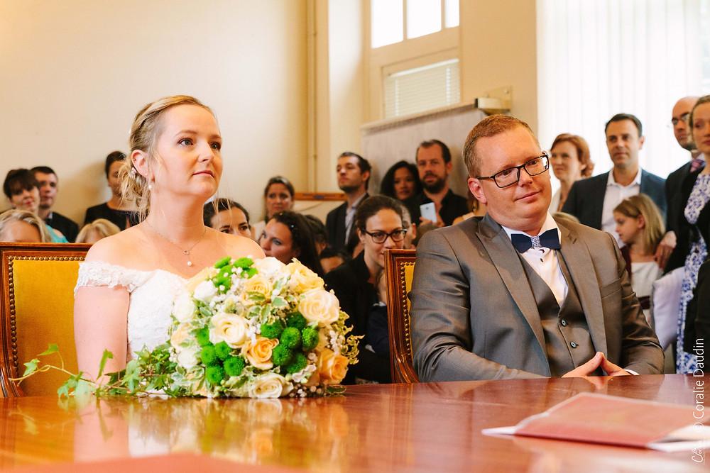 Photographe mariage mairie du Val d'Oise