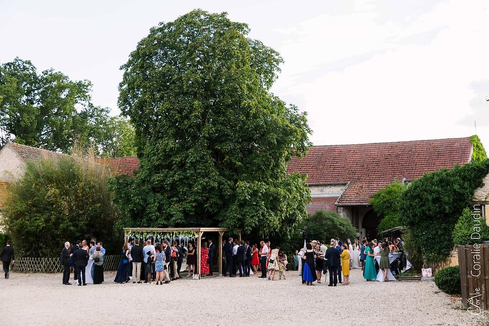 reportage photo mariage aux Granges du Chesnay