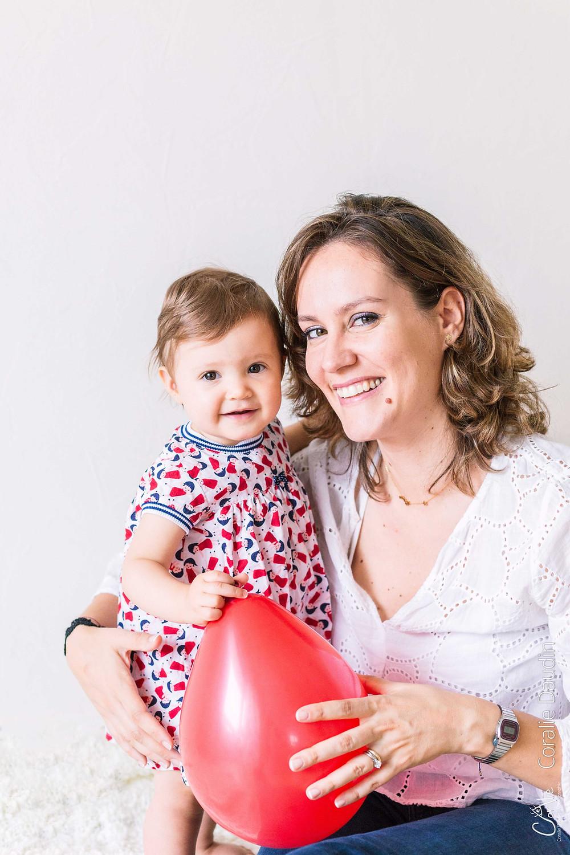 Photographe bébé et maman