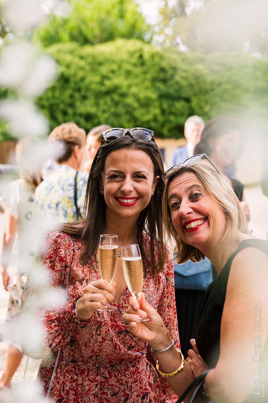 portraits des invités au vin d'honneur