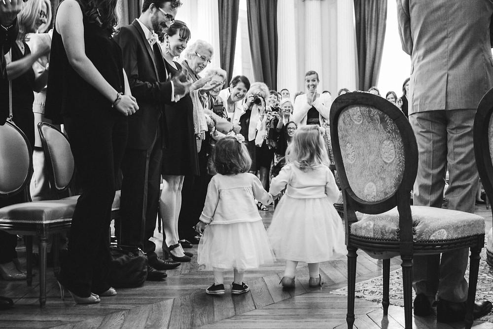 petites demoiselles d'honneur mariage