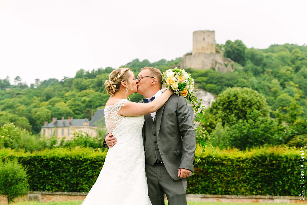 Séance couple mariage la Roche-Guyon