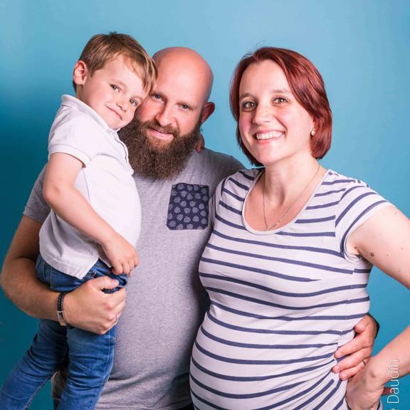 Séance photo en famille - Studio à Massy