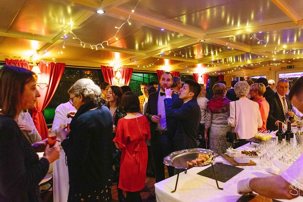 Photographe soirée mariage Boulogne-Billancorut