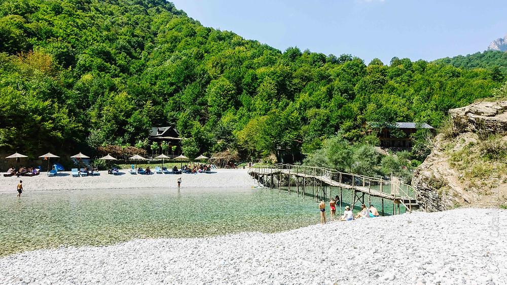 Lac Koman Albanie