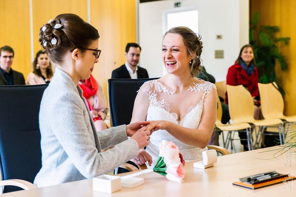 Photographe cérémonie de mariage Chaville