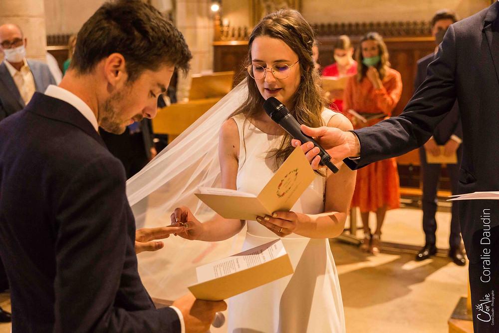 échange des alliances église Verrières-le-Buisson