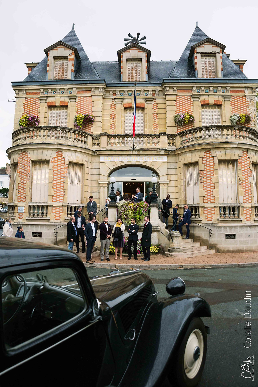 Cérémonie mariage mairie de Yerres (Essonne)