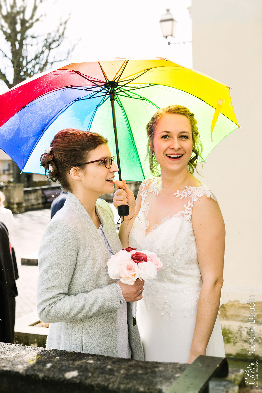 Portrait jeunes mariées - mariage gay Chaville