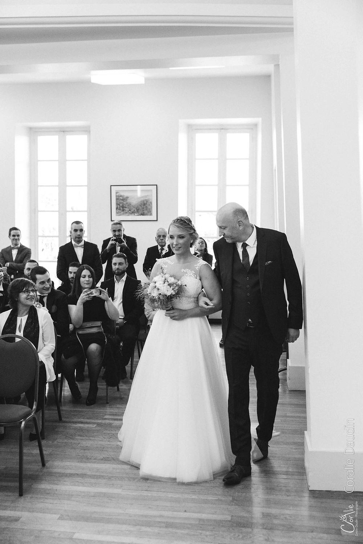 Reportage photo cérémonie mariage mairie Epinay sur Orge