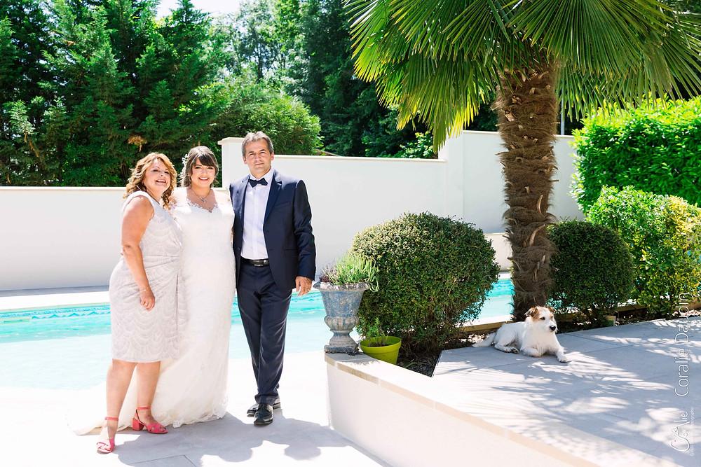 photo de groupe mariage Seine et Marne