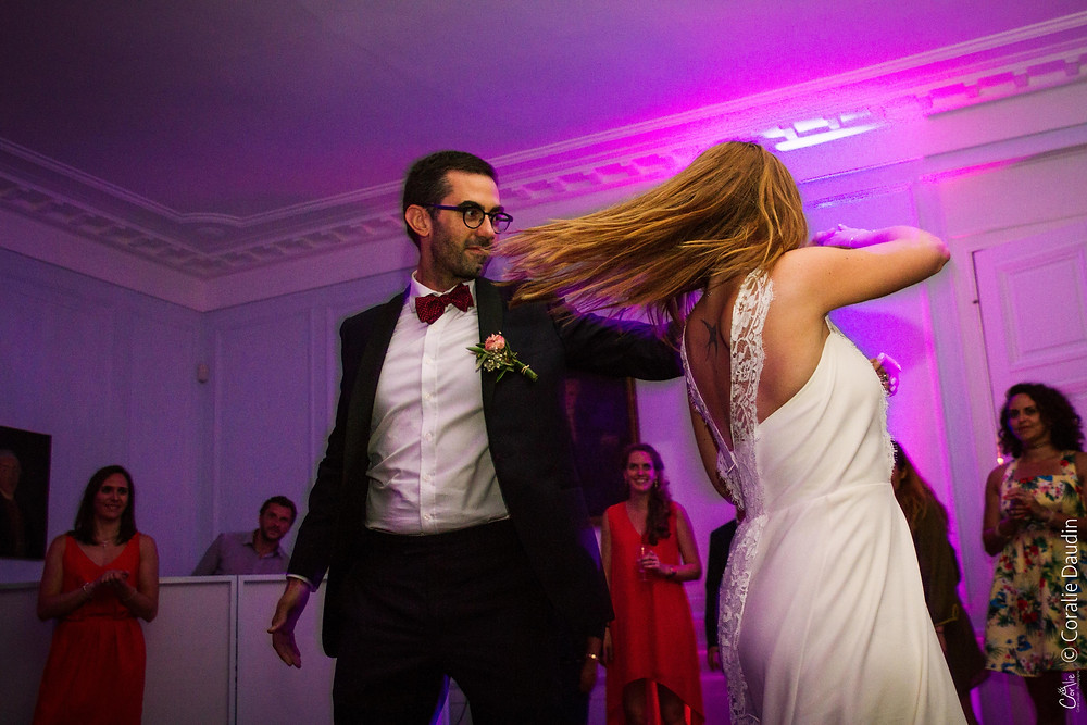 Photographe mariage Ile de France - ouverture du bal