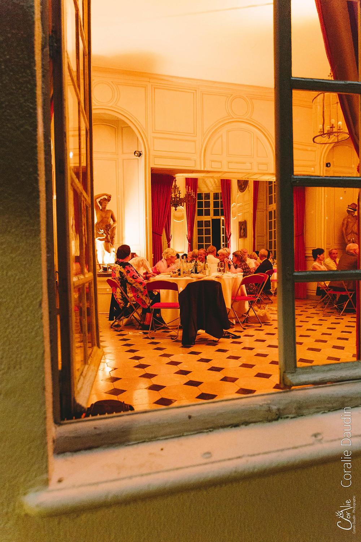 dîner mariage Château du Breuil