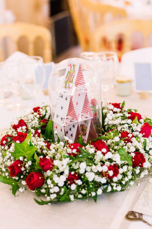 décoration salle de réception mariage Ile de France
