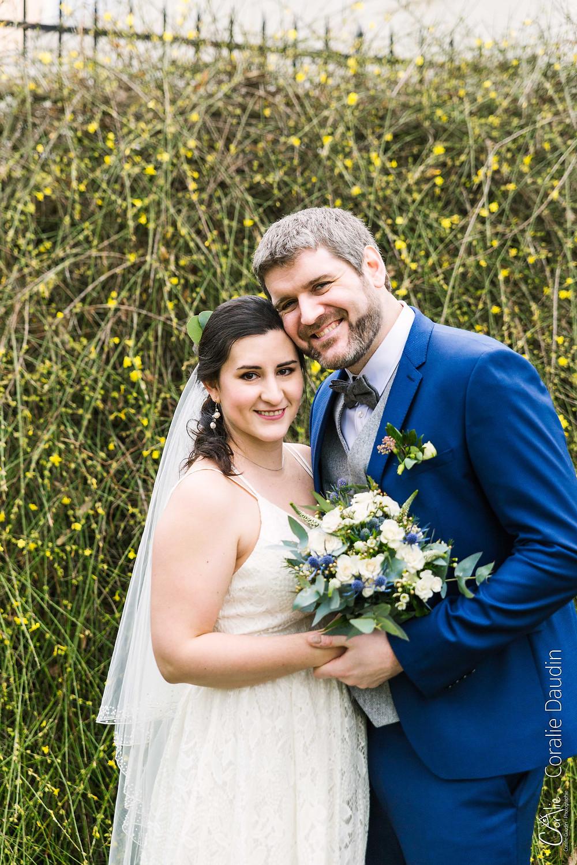 Photographie couple mariés Villiers-sur-Marne