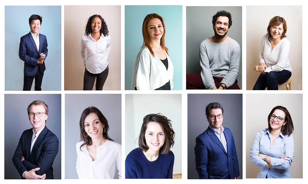 Portraits corporate Ile de France