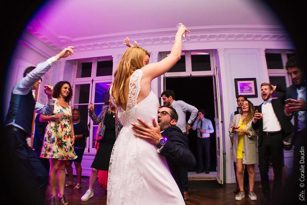 Ouverture du bal mariés