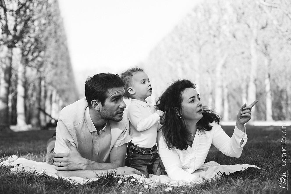 Shooting photo famille à Sceaux (92)