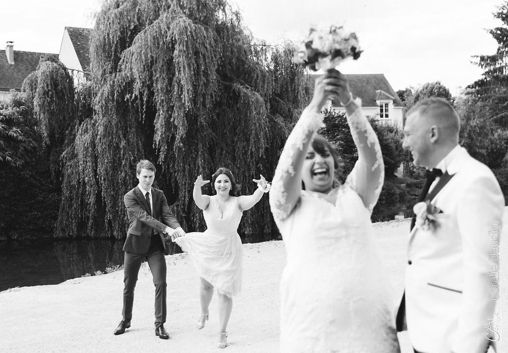 photographe couple mariés Seine et Marne