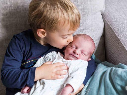 Séance photo naissance à domicile - Sceaux (92)