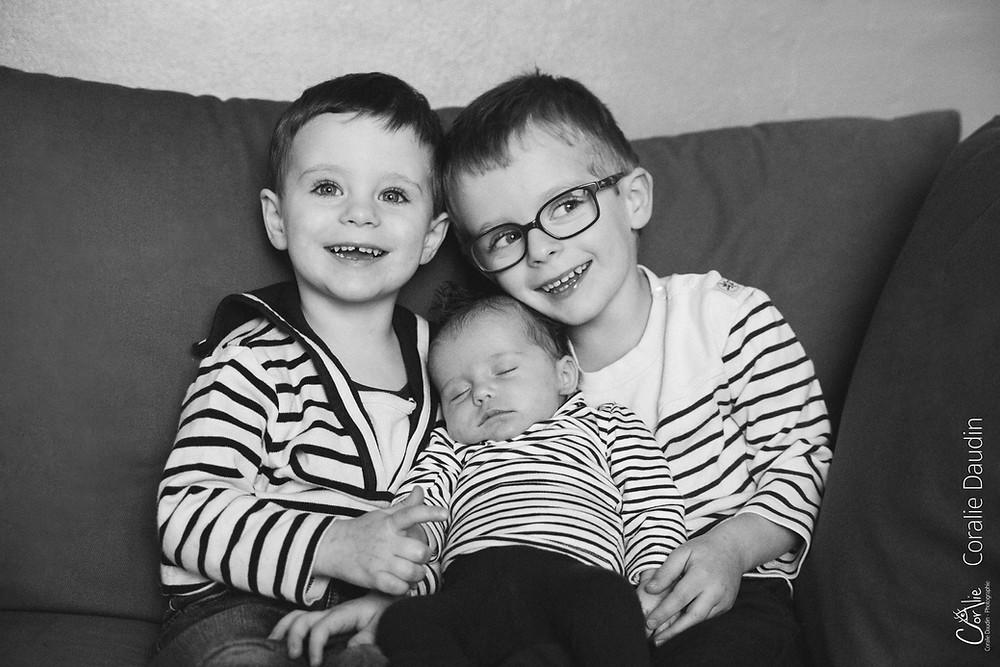 Photo frère et soeur - souvenirs de famille