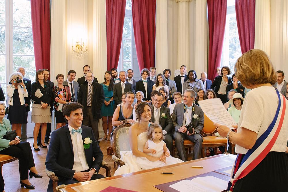 cérémonie civile mariage mairie