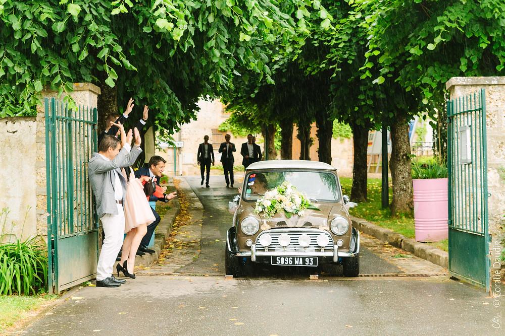 Photographie de mariage, cérémonie à la mairie