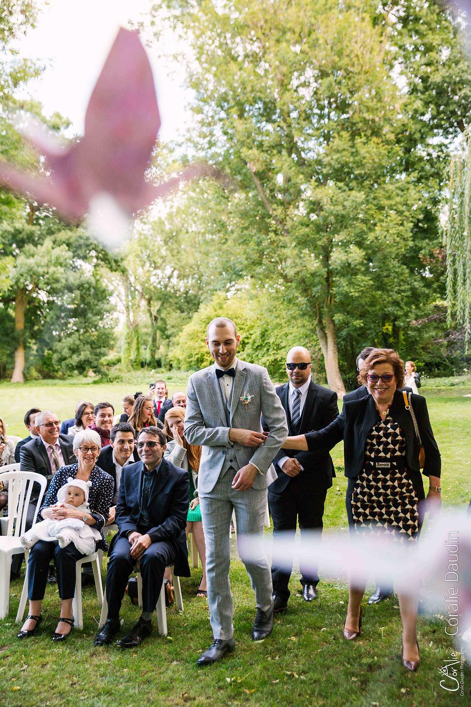 photographie cérémonie laïque mariage Essonne