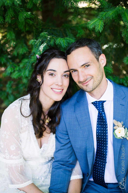 portrait couple de mariés
