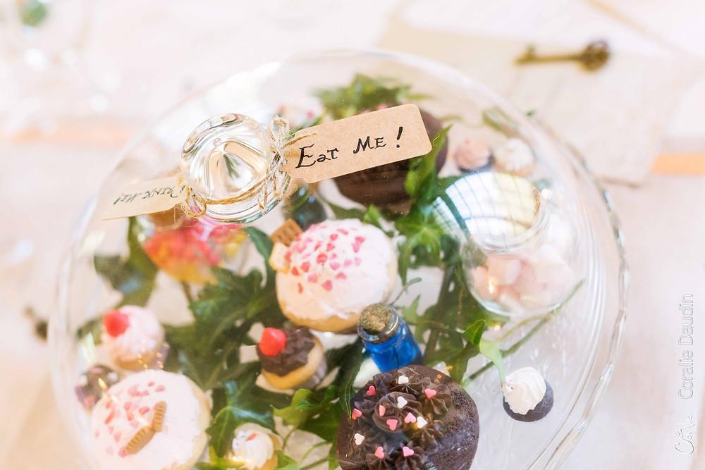 décoration mariage thème Alice au pays des merveilles