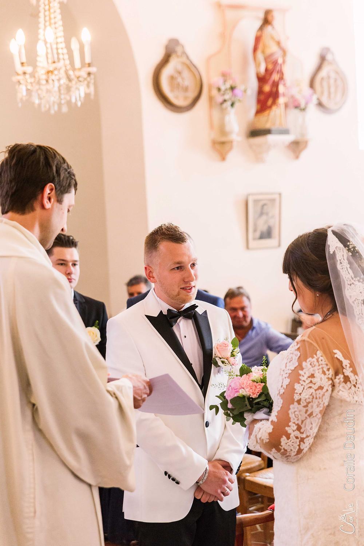 photo cérémonie mariage église