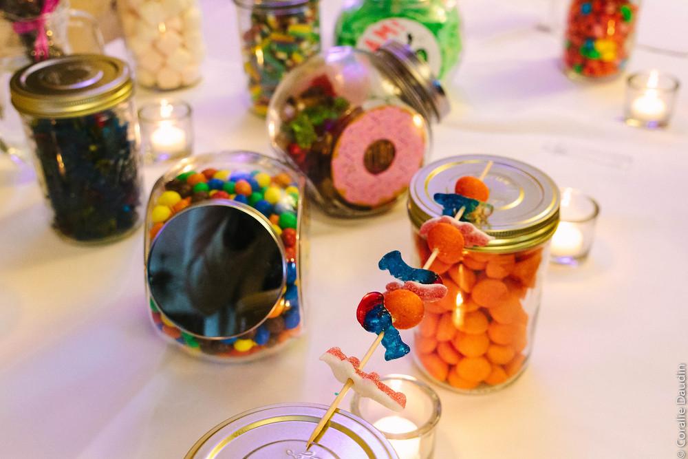 Photo décoration salle de réception - Coralie Daudin-Photographe mariage Essonne - reportage mariage