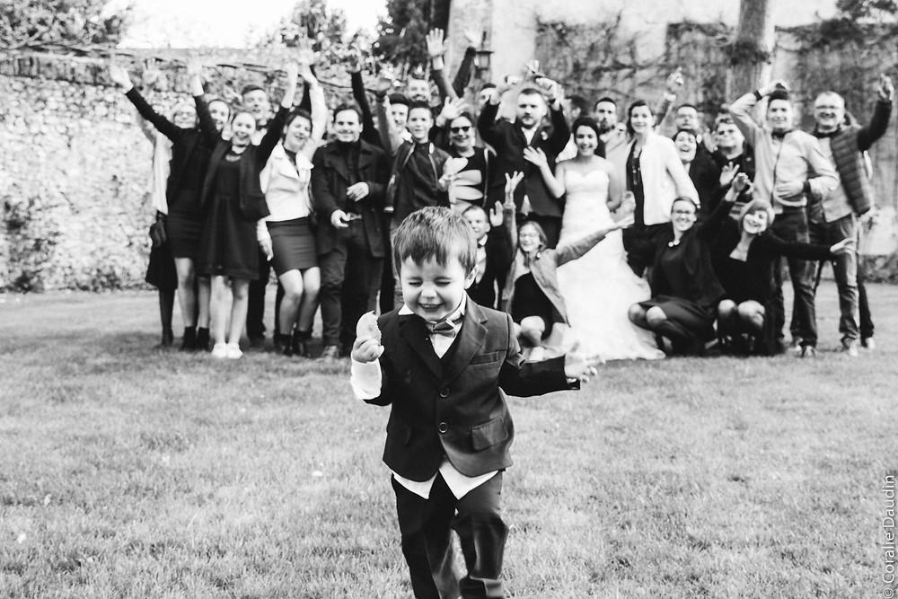 Photo goupe - Coralie Daudin-Photographe mariage Essonne- reportage mariage