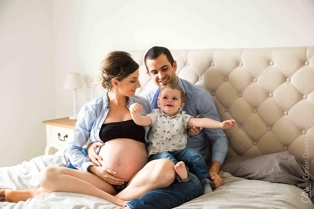 Séance photo grossesse à domicile, Châtenay Malabry