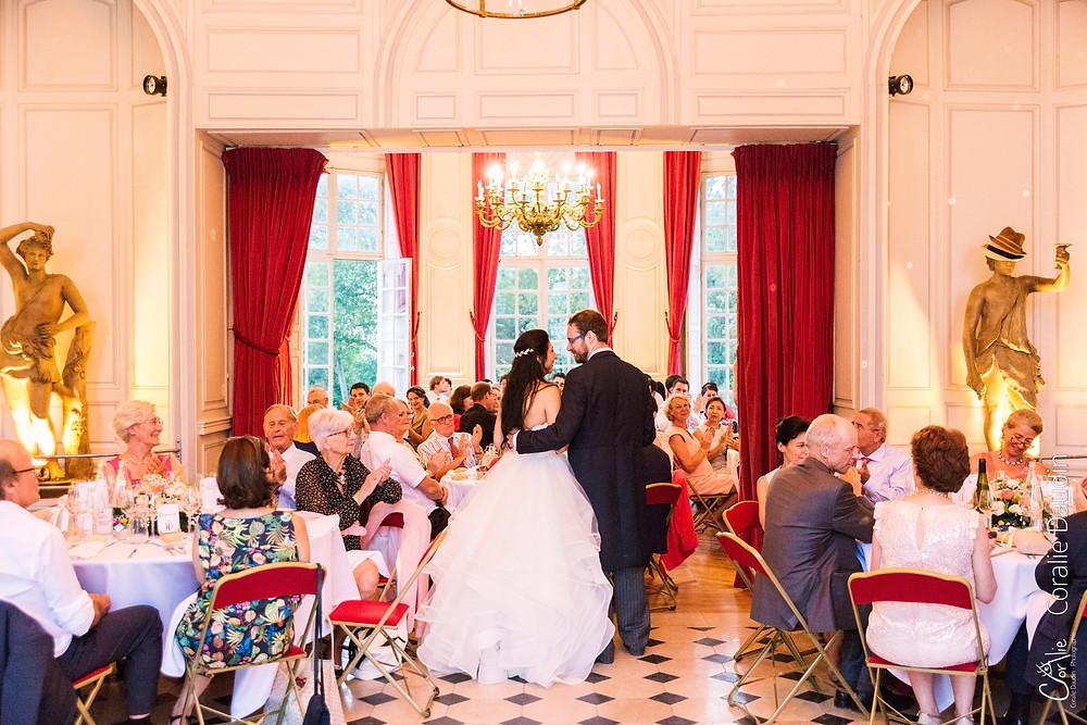 repas dîner mariage Château du Breuil