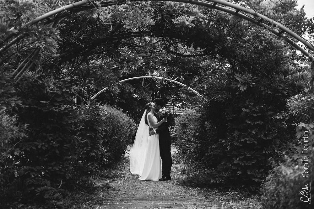 photo de couple des mariés, Hauts-de-Seine