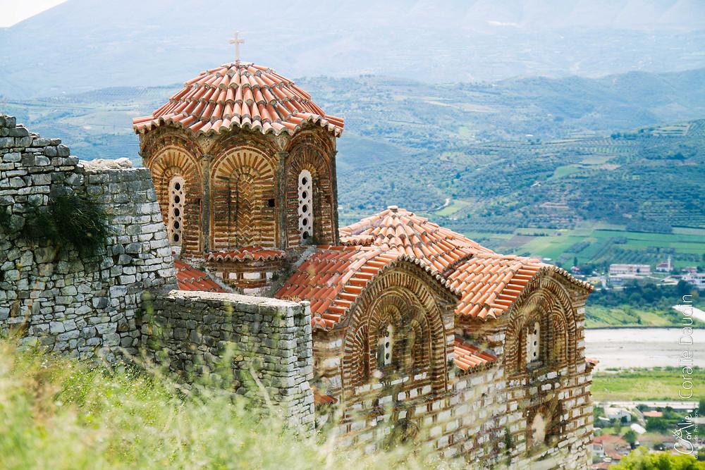L'église byzantine de la Sainte-Trinité, Bérat