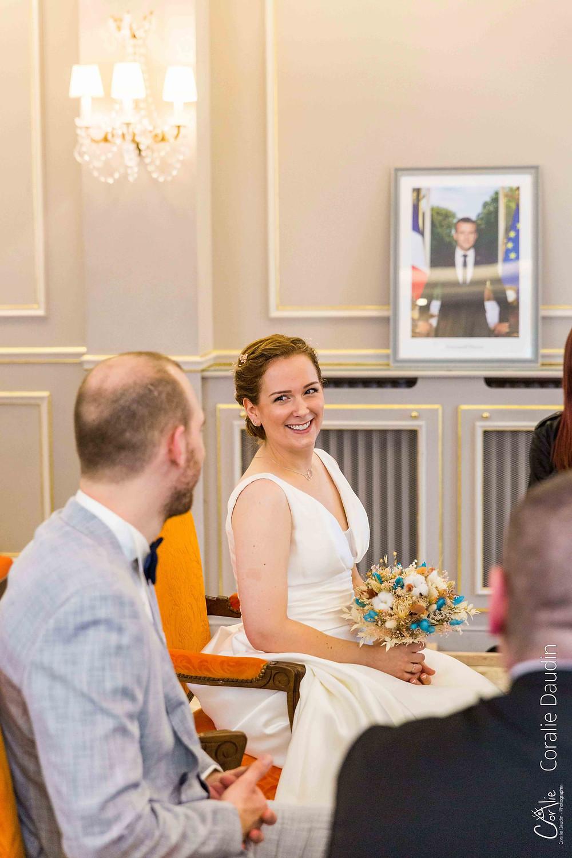 Cérémonie civile mariage mairie de Yerres