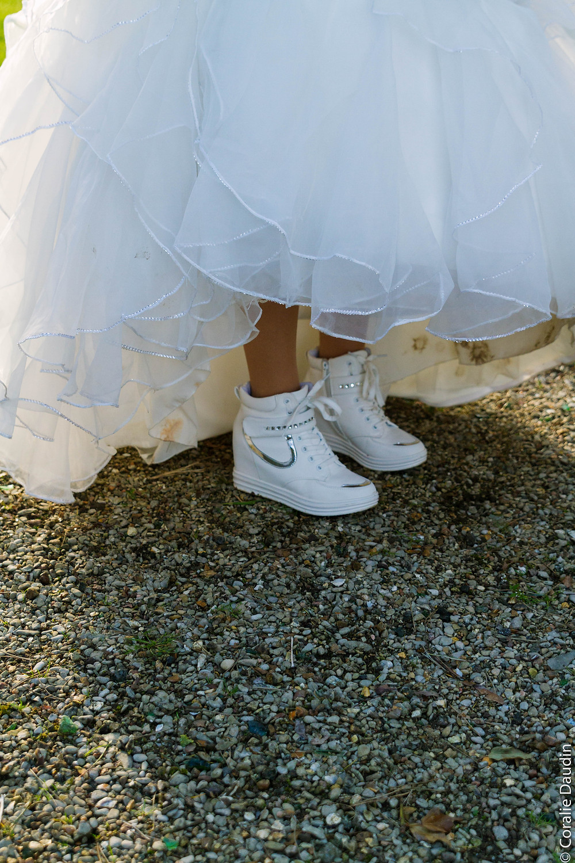 Photo look de la mariée - Coralie Daudin-Photographe mariage Essonne - reportage mariage
