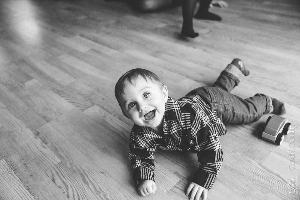 Séance photo bébé à domicile Ile de France