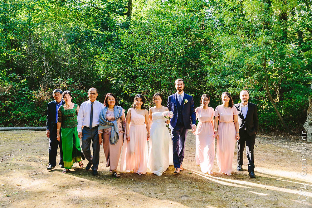 photos de groupe mariage Ile de France