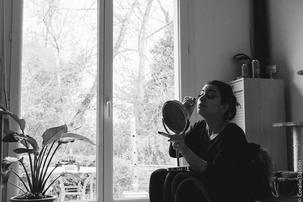 Photo Préparatifs mariée - Coralie Daudin-Photographe mariage Essonne- reportage mariage