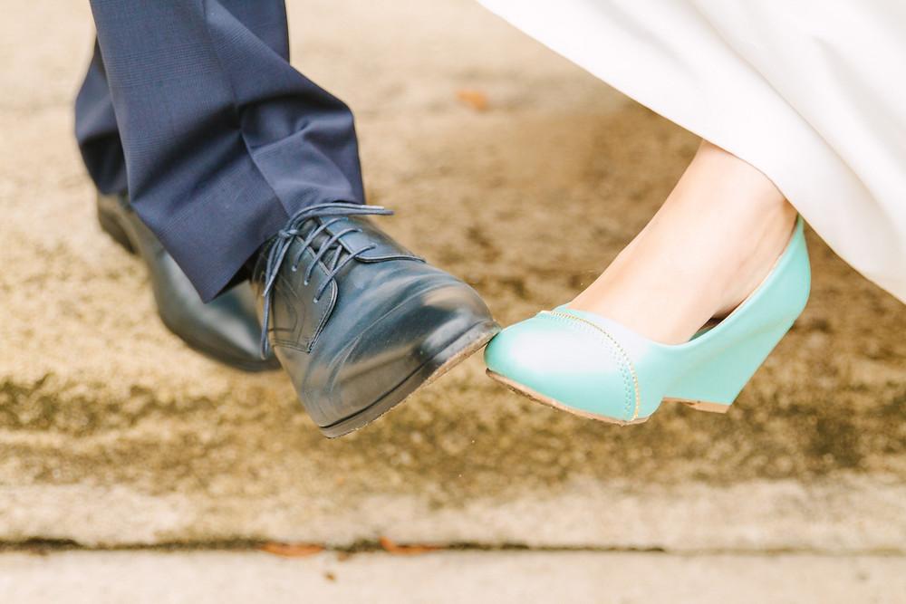 Chaussures mariés