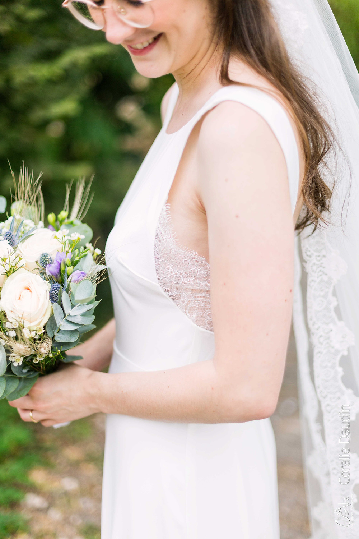 photo robe de la mariée
